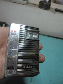 Rádio Sharp Am Solid State Modelo Bp-102b Para Peças