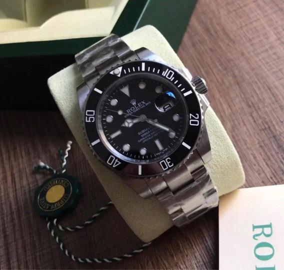 Relógio Rolex Submariner ,safira, Automático, Acab Suíço