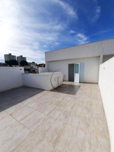 Imagem 1 de 19 de Cobertura À Venda, 96 M² Por R$ 319.000,00 - Vila Alto De Santo André - Santo André/sp - Co0849