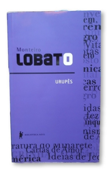 Um Livro Usado Urupes Monteiro Lobato