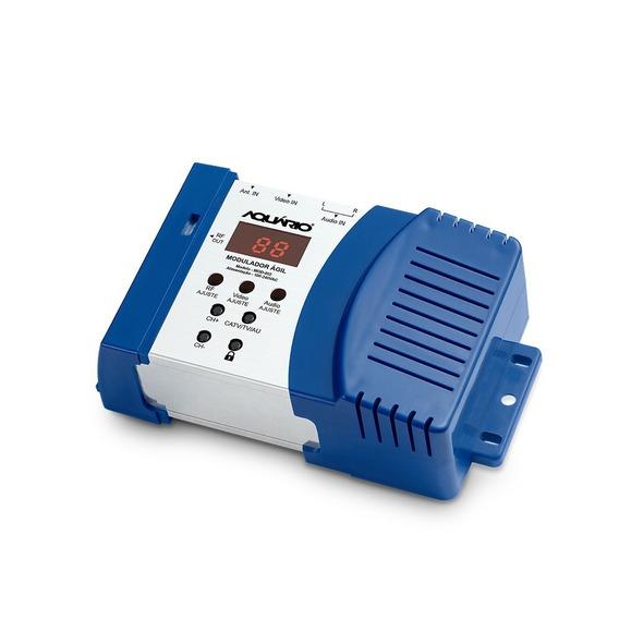 Modulador Ágil De Tv (áudio E Vídeo) Aquário Mod-002