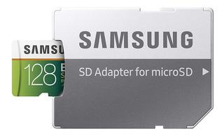 Samsung 128gb 100mb / S (u3) Cartão De Memória Microsdxc Evo