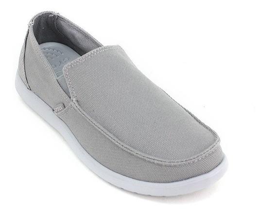 Crocs Santa Cruz Clean Cut - Smoke / Light Grey