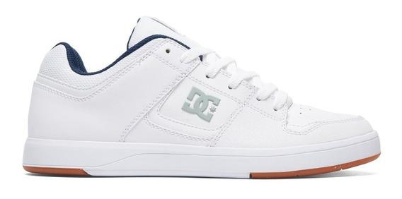 Zapatillas Hombre Blanca Dc Shoes Cure Urbanas Skate