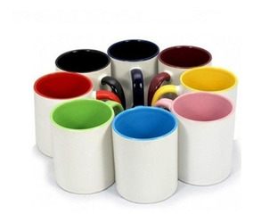 Caneca Colorida Sublimática Porcelana - 12 Unidades