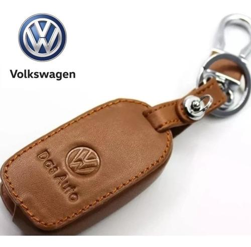 Imagen 1 de 3 de Funda Piel Llave Vw Volkswagen Jetta A4 A6 Bora