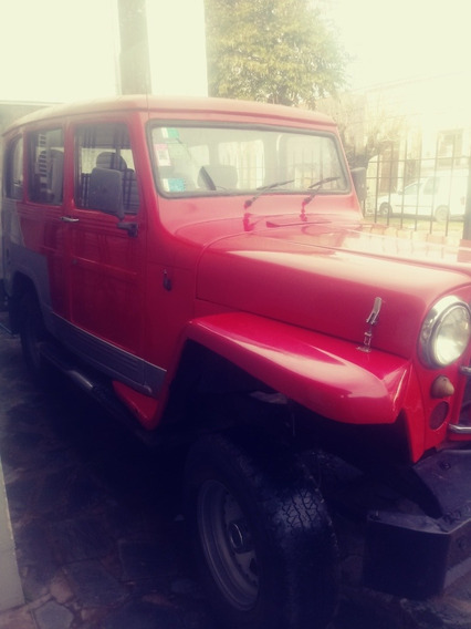 Jeep Estanciera Ika 3 Puertas