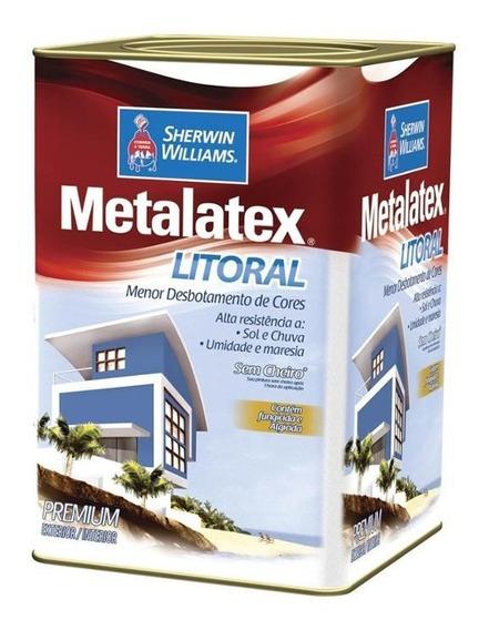 Tinta Acrílica Metalatex Litoral Laranja Sauipe 18 Litros