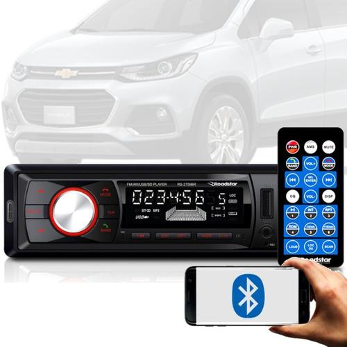 Imagem 1 de 7 de Aparelho Bluetooth/usb/aux/sd/fm Roadstar 7 Cores Gm Malibu