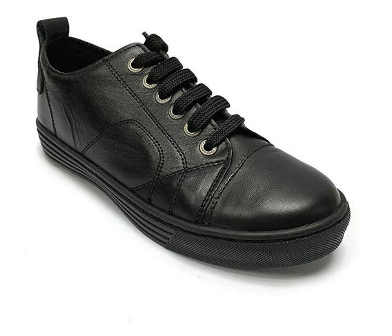 Zapatos Sneakers Colegiales Romano Niño Ne Rm 7110 Corpez 44
