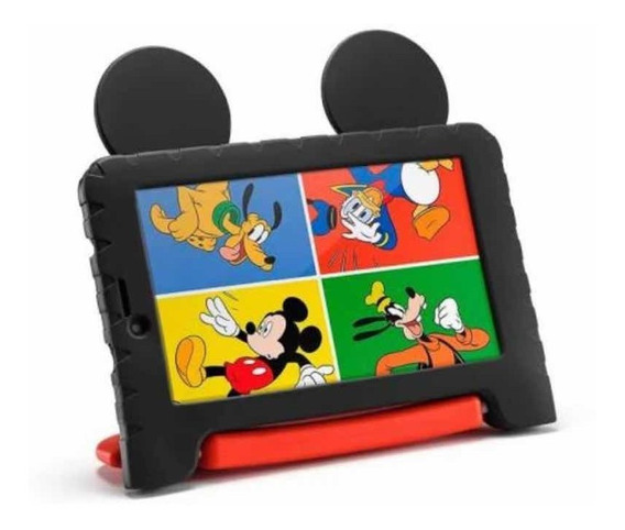 Tablet Mickey Mouse Plus 16gb Quad Core Multilaser