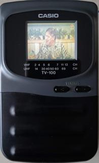Mini Tv Casio Antigua Portable Tv-100 1,6 Pulgadas