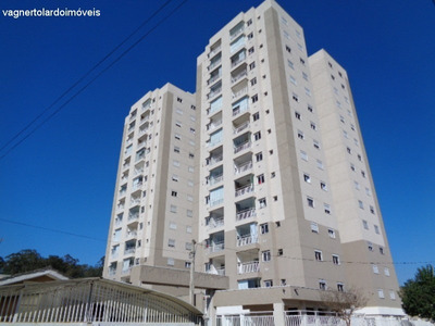 Residencial Viver Arujá, 2 Torres, 14 Andares, 4 Aptos/andar, 2 Elevadores, Apartamento A Venda, Arujá, Sp. - Ap00019 - 32879432