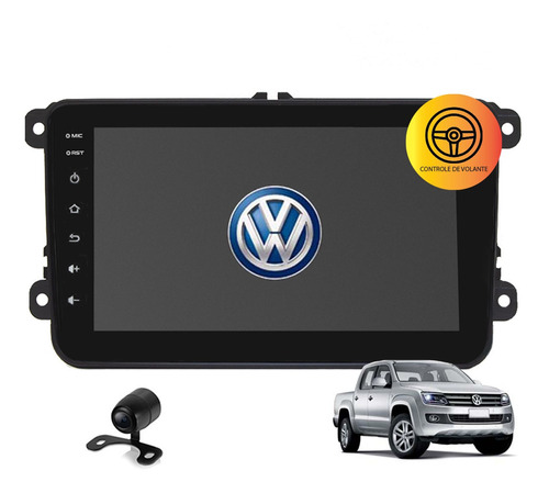 Central Multimidia  Android Amarok 2015 Tv Gps Usb Wifi Cam