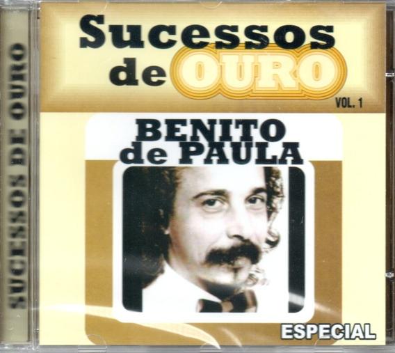 Cd Benito De Paula Sucessos De Ouro Lacrado Frete R$ 12,00