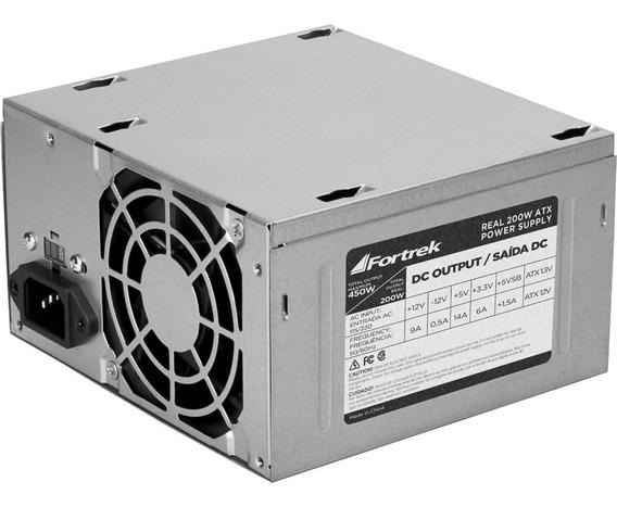 Fonte De Computador Atx 450w - 200 W Real Promoção