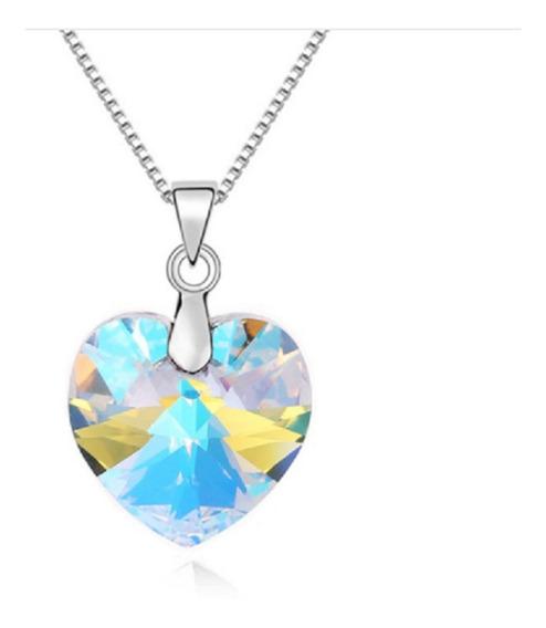 Bellos Cristales De Corazon Swarovski Grandes Varios Colores