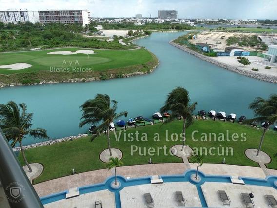 Departamento En Venta En Puerto Cancun, Torre Maioris, De 2 Recamaras