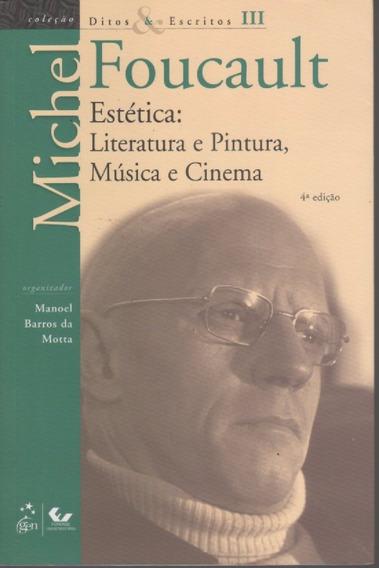 A214 - Estética: Literatura E Pintura - Michel Foucault