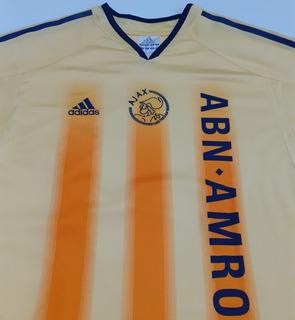 Camisa Amarela Ajax 2004 E 2005 Da Holanda adidas - Am