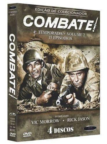 Box Dvd: Combate 4ª Temporada Volume 2 - Original Lacrado