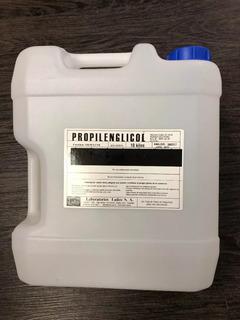 Propilenglicol Técnico 10 Kg Con Certificado - No Apto Envío