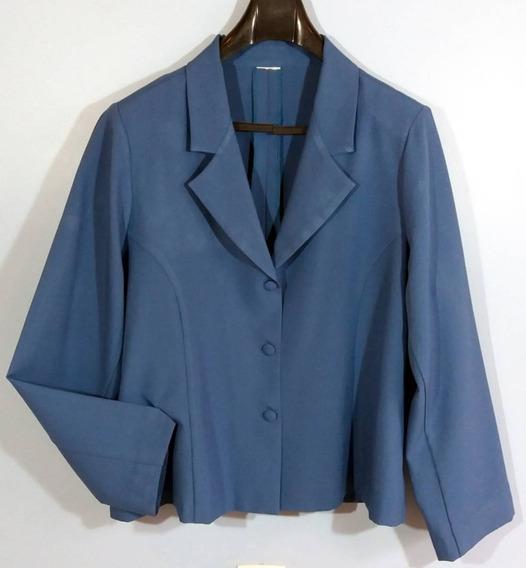 Terno Feminino Azul Plus Size