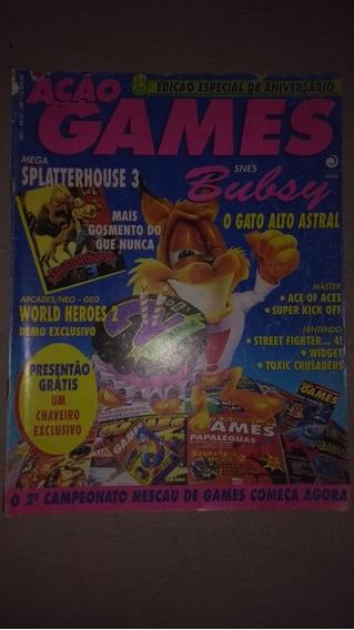 Revista Ação Games Nº 35 Bom Estado Relíquia