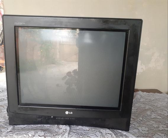 Tv 21 Polegada.tela Plana De Tubo