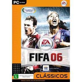 Game Pc Fifa 06 Cd Rom Classicos Em Portugues