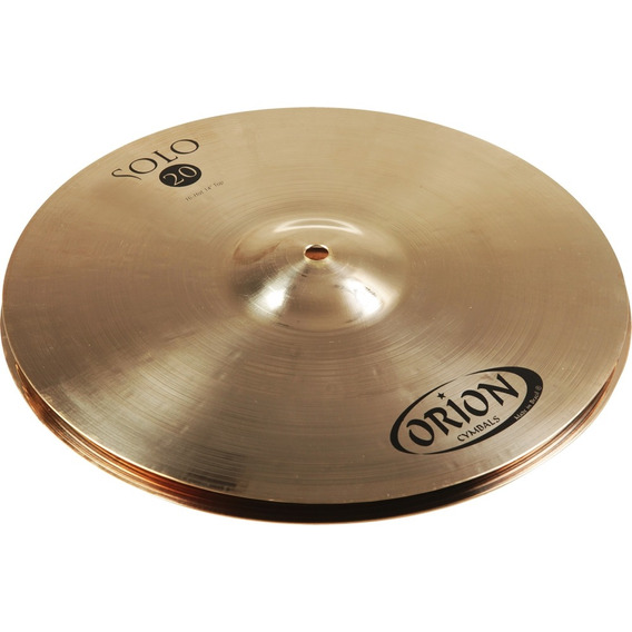 Prato Bateria Chimbal Hihat Solo20 Sv14hh B20 Orion Outlet