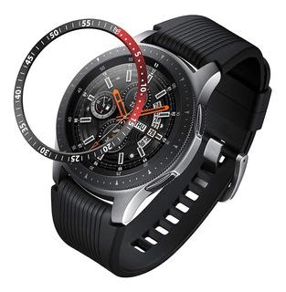 Bisel Protector Metal Para Samsung Galaxy Watch 46mm Y Mica