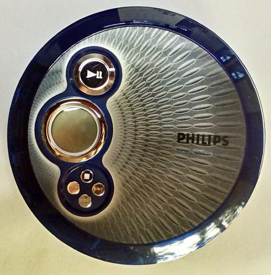 Discman Philips Ax2400 Azul
