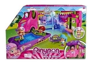 Pinypon Cool Caravana Vehiculo Con Figura Y Accesorios
