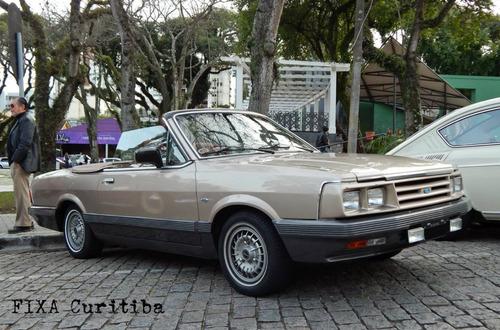 Ford Del Rey Sr Conversível Placa Preta (não Santa Matilde )