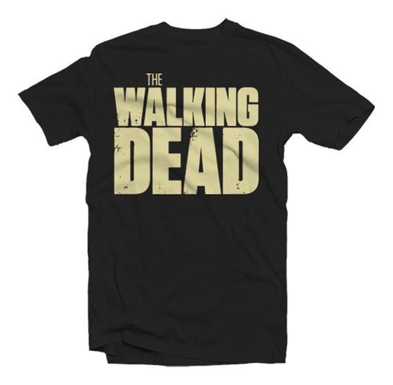 Playeras The Walking Dead - 18 Modelos Disponibles.