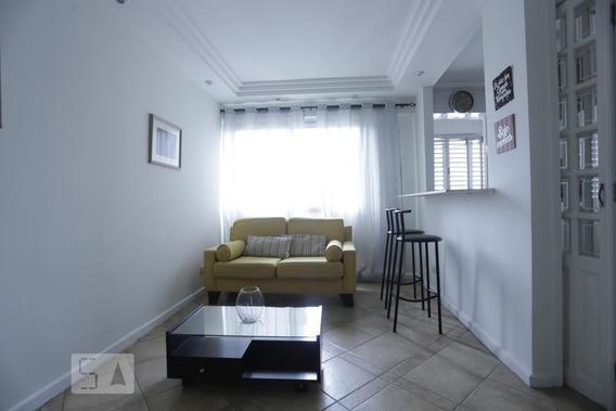 Apartamento No 18º Andar Mobiliado Com 1 Dormitório E 1 Garagem - Id: 892987189 - 287189