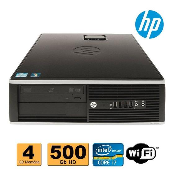 Cpu Hp Elite 8300 1155 I7 3ª Geração 4gb 500gb Rw Wifi