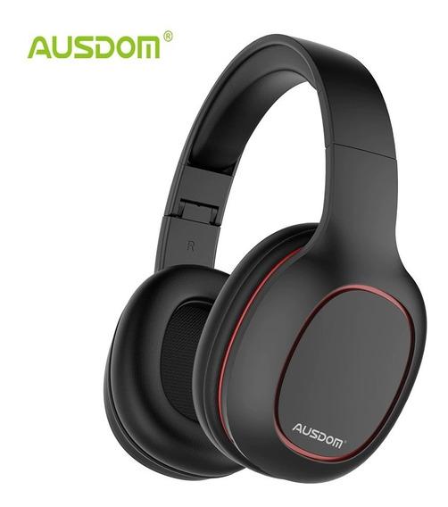 Fone Ouvido Over-ear Ausdom Bluetooth Mic Sd Jp259