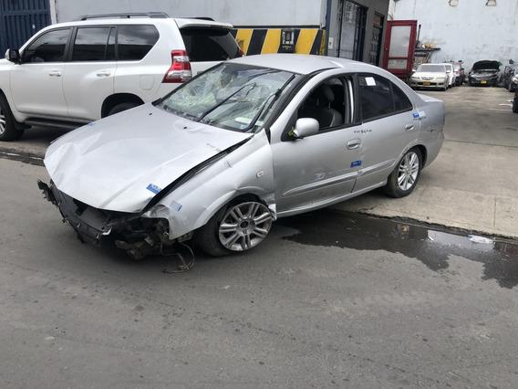 Renault Scala 2012, Accidentado