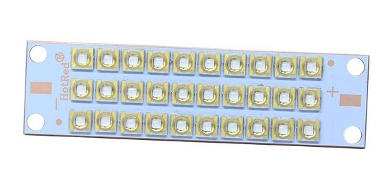 Chip Led 100w Uv 60º +driver 100w+dissipador Com Cooler