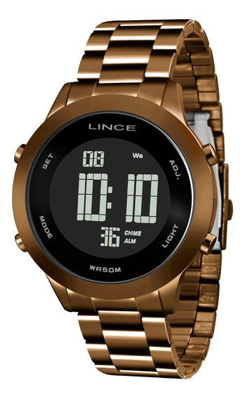 Relógio Lince Feminino Sdph084l Pxnx Marrom - Refinado