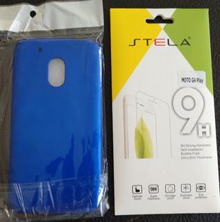 Case 360 Full Plastico + Cristal Moto G4 Env. Incluido