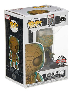 Funko Pop 945 Spider Man Edicion Especial Marvel Playking