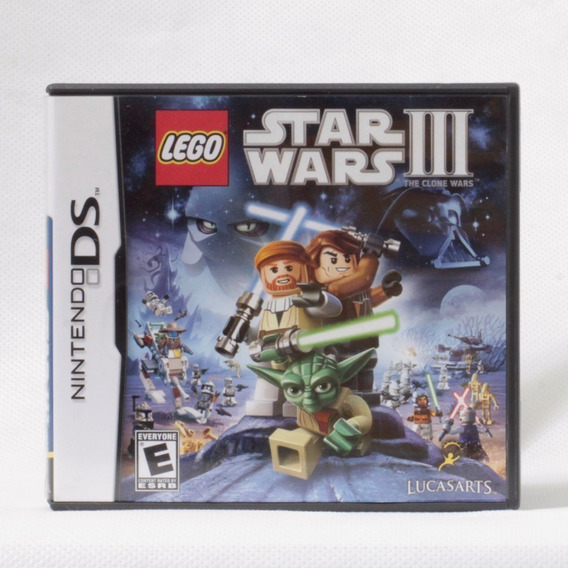 Lego Star Wars Iii 3 The Clone Wars / Ds - Original Completo