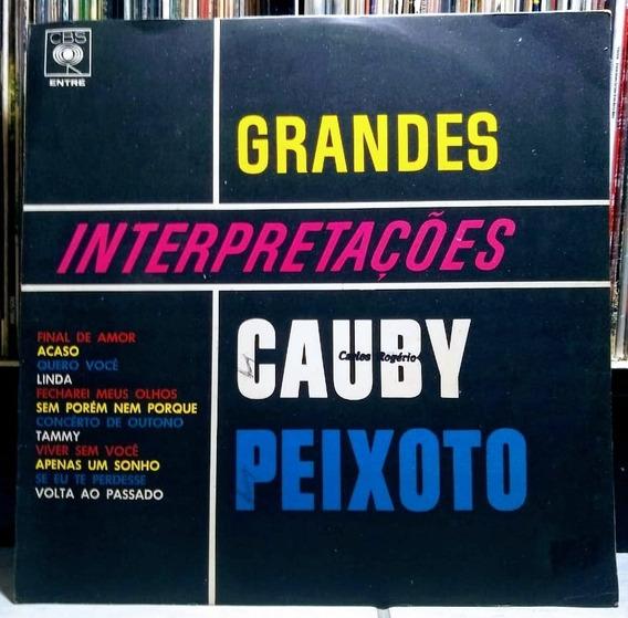 Lp Cauby Peixoto Grandes Interpretações 1965