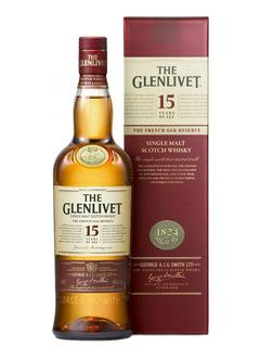 Whisky The Glenlivet 15 Años Single Malt Importado Escocia
