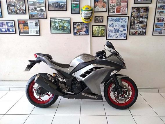 Kawasaki Ninja 300r 2014 Baixíssima Km - Moto & Cia