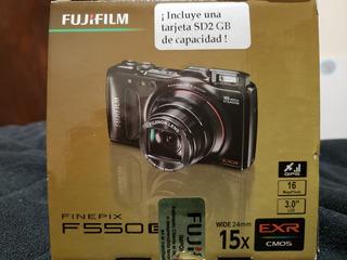 Cámara Fotográfica Fujifilm Finepix F550 Exr