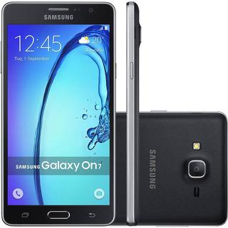 Samsung Galaxy On7 G600f 8gb Dual 13mp 5.5 Preto Vitrine 3